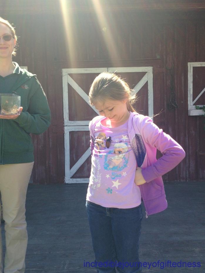 Fort Worth Zoo Homeschool Day - Hissing Roach