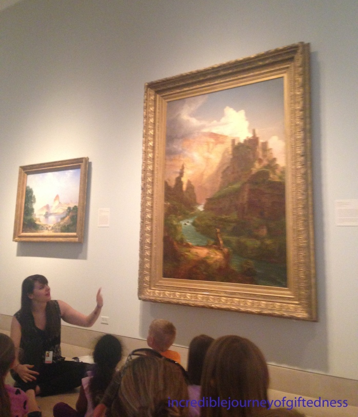 Dallas Museum of Art Homeschool Class 3