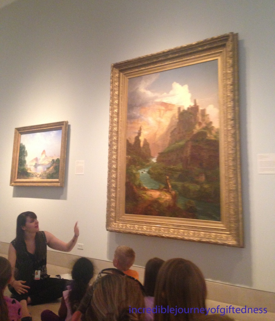 Dallas Museum of Art Homeschool Class 3