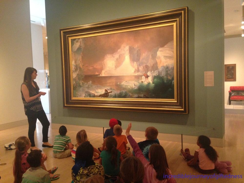 Dallas Museum of Art Homeschool Class
